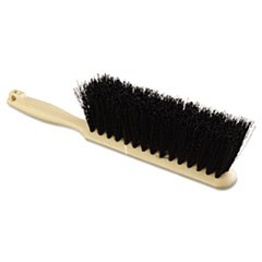 "Counter Brush, Polypropylene Fill, 8"" Long, Tan Handle"