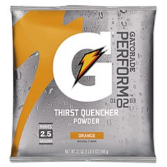 G2 Low Calorie Powdered Drink Mix, Orange, 21oz Packet, 32/Carton