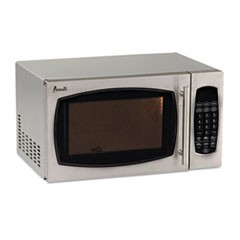 0.9 Cubic Foot Capacity Stainless Steel Microwave Oven, 900 Watts