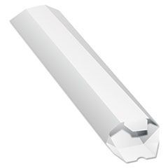 Expand-on-Demand Mailing Tubes, 15l x 2dia, White