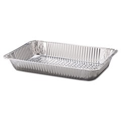 "Steam Table Aluminum Pan, Full-Size, 3 3/16"" Deep, 50/Carton"