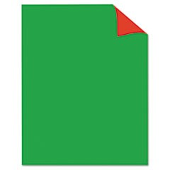 Two Cool Poster Board, 22 x 28, Red/Green, 25/PK