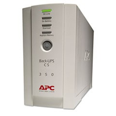 BK350 Back-UPS CS Battery Backup System, 6 Outlets, 350 VA, 1020 J