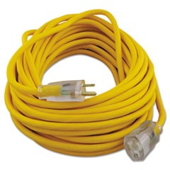 Polar/Solar Outdoor Extension Cord, 50ft, Yellow