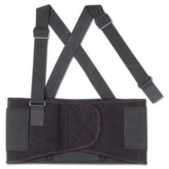 ProFlex 1650 Economy Elastic Back Support, Large, Black