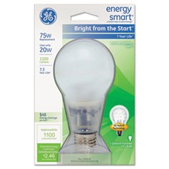 Compact Fluorescent Bulb, A21, Soft White