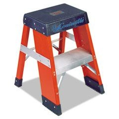 FY8000 Series Industrial Fiberglass Step Stand, 2 ft, 2-Step