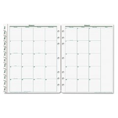 Original Dated Monthly Planner Refill, January-December, 8 1/2 x 11, 2019