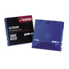 "1/2"" Ultrium LTO-2 Cartridge, 1998ft, 200GB Native/400GB Compressed Capacity"