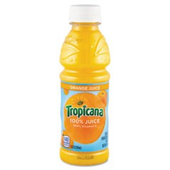100% Juice, Orange, 10oz Bottle, 24/Carton