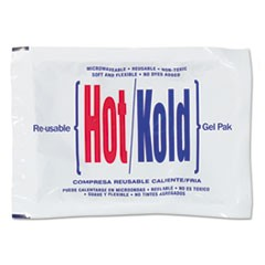 "Reusable Hot/Cold Pack, 8.63"" Long, White"