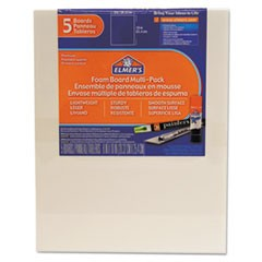 White Pre-Cut Foam Board Multi-Packs, 8 x 10, 5/PK