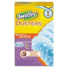 Refill Dusters, Dust Lock Fiber, Yellow, 10/Box