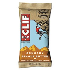 Energy Bar, Crunchy Peanut Butter, 2.4oz, 12/Box