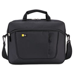 "Laptop and Tablet Slim Case, 15.6"", 16 1/2 x 3 1/5 x 12 4/5, Black"