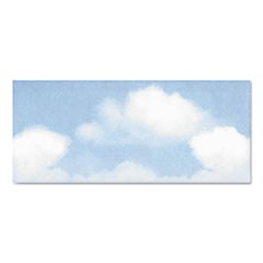Design Suite Envelope, Blue Clouds, 4 x 9 1/2, 50/Bx