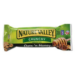 Nature Valley Granola Bars, Oats'n Honey Cereal, 1.5oz Bar, 18/Box