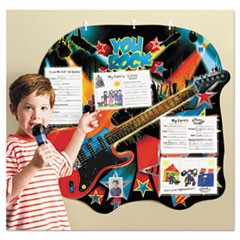 You Rock Hall of Fame Student Chart, 5 Pockets, Multicolor, 31 1/4 x 29 1/4,