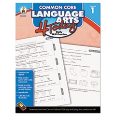 Common Core 4 Today Workbook, Language Arts, Grade 1, 96 pages