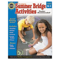 Summer Bridge Activities, Grades K-1