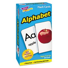 Skill Drill Flash Cards, 3 x 6, Alphabet