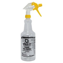 Color-Coded Trigger-Spray Bottle, 32 oz, Yellow: Carpet Pre-Spotter