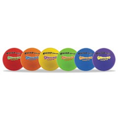 Super Squeeze Volleyball Set, Rhino Skin, Assorted, 6 Balls/Set