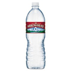 Natural Spring Water, 1 Liter Bottle, 15 Bottles/Carton