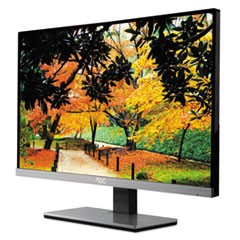 67-Series Widescreen LED Monitor, In-Plane Switching, 21.5""