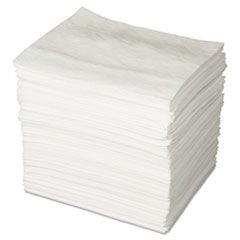 ENV MAXX Enhanced Oil-Only Sorbent Pads, .16gal, 15w x 19l, White, 200/Bundle