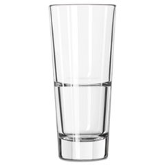 Endeavor Beverage Glasses, 10 oz, Clear, Hi-Ball Glass