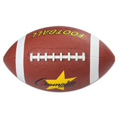 Rubber Sports Ball, Football, Official NFL, No. 9, Brown