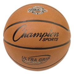 Rubber Sports Ball, Basketball, No. 7, Orange