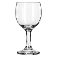 "Embassy Flutes/Coupes & Wine Glasses, Wine, 6 1/2oz, 5 3/8""H, Clear"