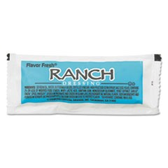 Flavor Fresh� Salad Dressings, Ranch, 12 g Packet, 200/Carton