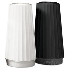 Classic Black Disposable Pepper Shakers, 1.5 oz, 48/Case