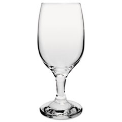 Glass Stemware, Wine, 8.5oz, Clear, 36/Carton