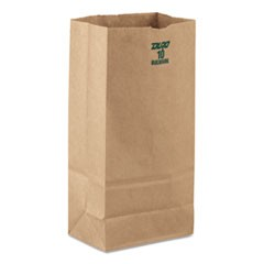 #10 Paper Grocery, 60lb Kraft, Extra-Heavy-Duty 6 5/16x4 3/16 x12 3/8, 1000 bags