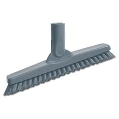 "SmartColor Swivel Corner Brush, 8 2/3"", Gray Handle"