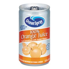 100% Juice, Orange, 5.5 oz Can