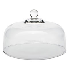 "Cake Dome, Glass, Clear, 11 1/4"" Diameter"