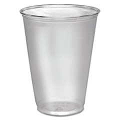 Ultra Clear Cups, Tall, 10 oz, PET, 50/Pack