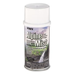 Odor Neutralizer Fogger, Alpine Mist, 5oz, Aerosol, 12/Carton