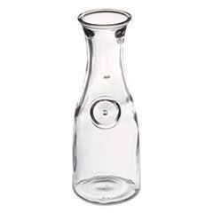 Glass Carafe, 1 Liter, Clear