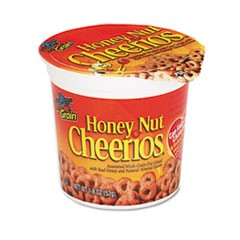 Honey Nut Cheerios Cereal, Single-Serve 1.8oz Cup, 6/Pack