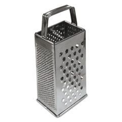 Tapered Grater, Stainless Steel, 9""