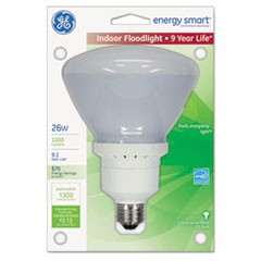 Energy Smart Compact Fluorescent Light Bulb, Indoor Flood, 1300 lm, Soft White
