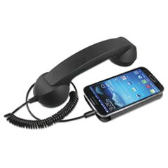Retro Corded Handset, Black