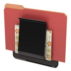 Stand Tall Wall File, Letter/Legal/Oversized, 9 1/4 x 10 5/8 x 1 3/4, Black