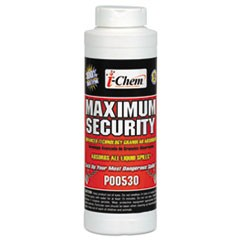 Maximum Security Sorbent, Granular, White, 32 Ounces, Canister, 12/Carton